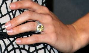 Miranda Lambert Wedding Ring Blake Shelton Smiling Wearing